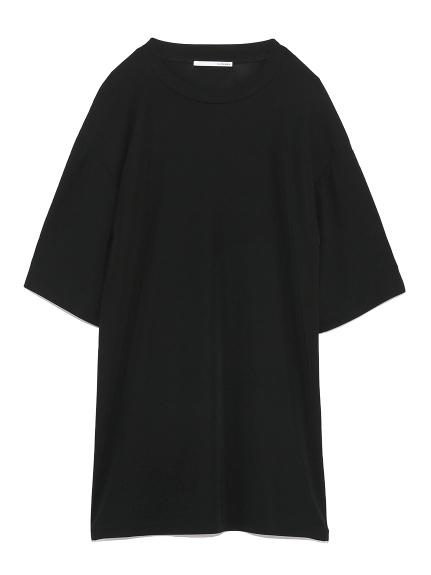 スムースTシャツ(BLK-F)