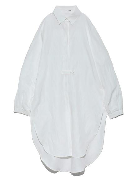 サイドスリットロングシャツ(WHT-F)