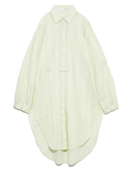 サイドスリットロングシャツ(MNT-F)