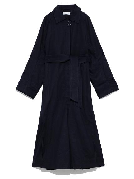 ドレス ステンカラーコート(NVY-0)
