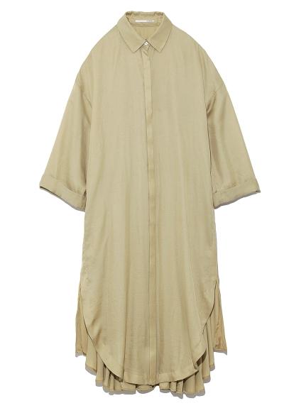 ロングシャツドレス(BEG-0)